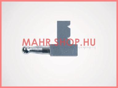 Mahr 4126631, 30 EUw Cserélhető mérőbetét, 4mm átmérőjű golyós betét, derékszögű kialakítás