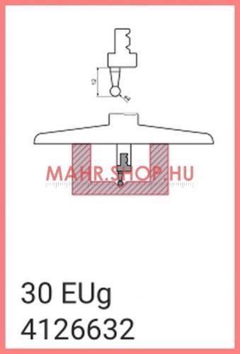 Mahr 4126632, 30 EUg Cserélhető mérőbetét, 4mm átmérőjű, egyenes kialakítás