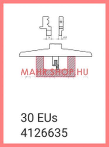 Mahr 4126635, 30 EUs Cserélhető mérőbetét, egyenes kialakítás