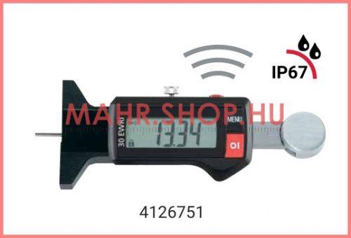 Mahr 4126751, MarCal 30 EWRi Digitális mélységmérő beépített vezeték nélküli kapcsolattal, 0-25/0,01mm IP67
