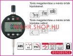 Mahr 4337621 Digitális Mérőóra MARCATOR 1086 R REFERENCE IP 42 TOL LOCK DATA ABS 0-25mm