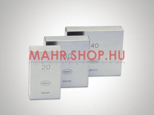 Mahr 4801209 MarGage 417/1 acél mérőhasáb 0,5 mm DIN EN ISO 3650 / 1