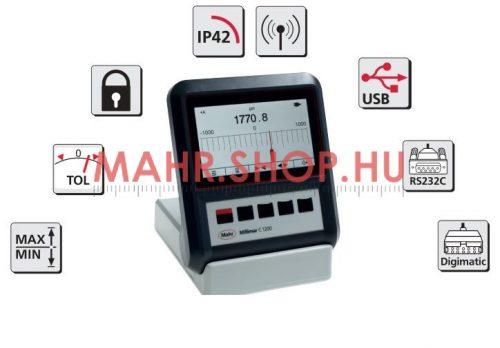 Mahr 5312012 MILLIMAR C 1200M  Kijelző és kiértékelő készülék  ±5000µm