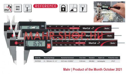 Mahr 9107525 MarCal 16 EWR Digitális tolómérő 150/0,01 mm IP67 akciós 3 darabos csomagban (3db 4103302)